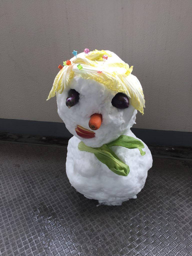 近畿地方も大雪でした。川西池田駅から川西能勢口駅まで散歩しましたが、たくさんの雪だるまがありました。